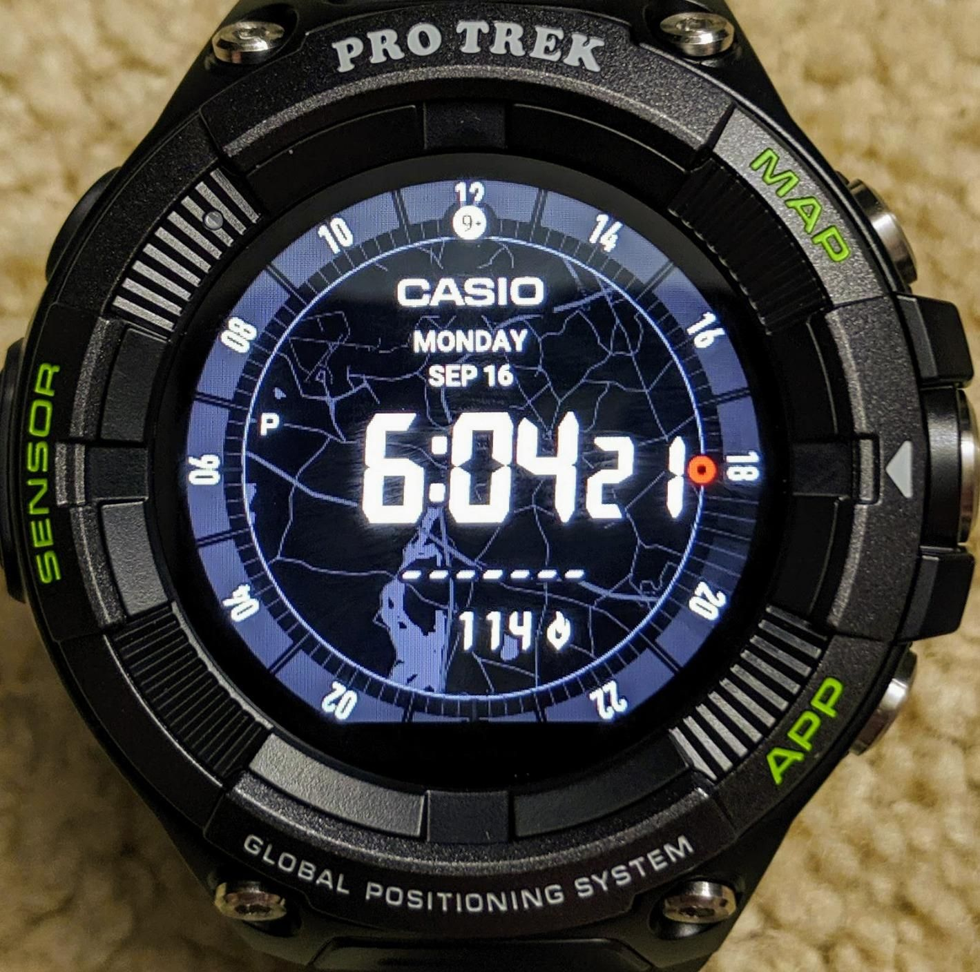 Best Sports Watch Outdoor Heart-Rate Monitor GPS Sports Watch #sportswatches