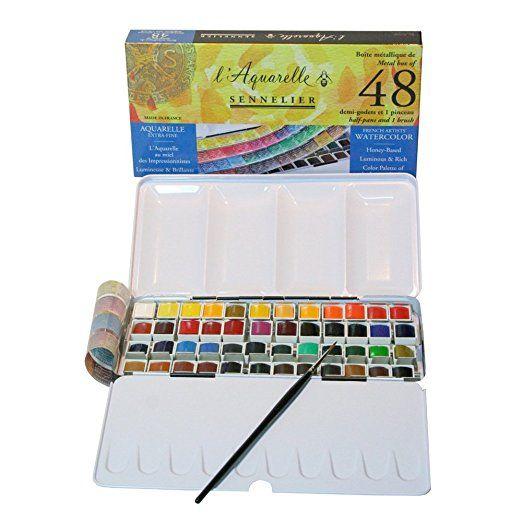 Amazon Com Sennelier L Aquarelle Watercolor Tubes 10ml Rose