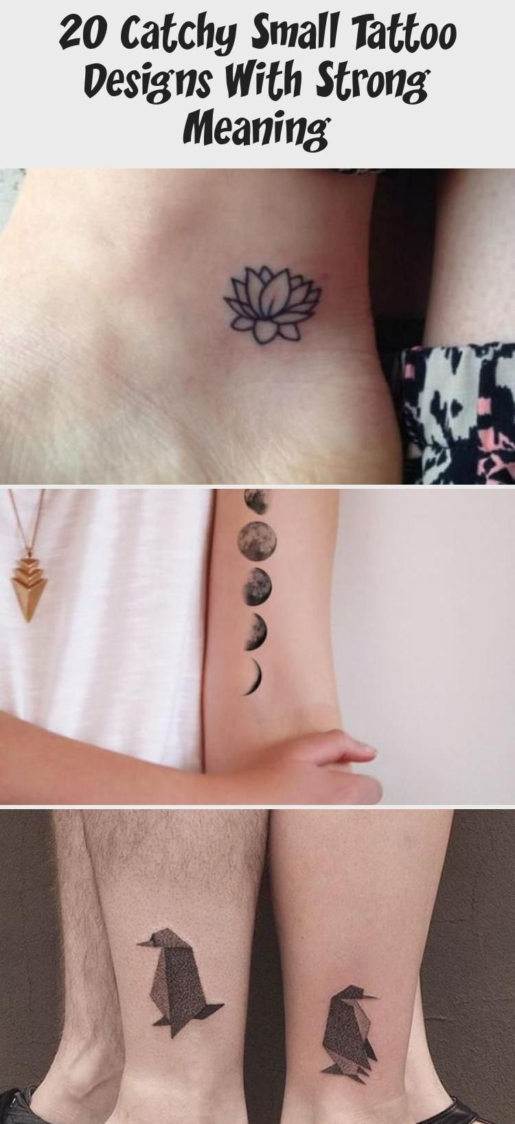 20 Catchy Small Tattoo Designs With Strong Meaning in 2020