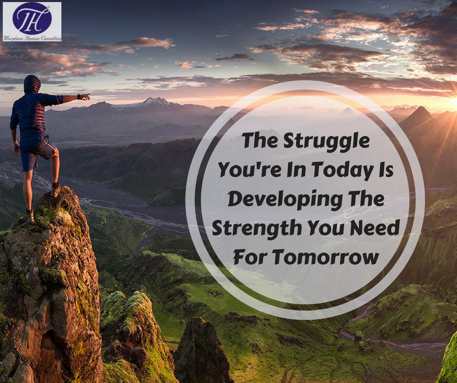 #Quote #Of #The #Day #The #Struggle #You're In #Today Is #Developing The #Strength #You #Need #For #Tomorrow. :)  :) :)