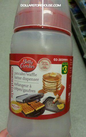 Dollarama Deal Betty Crocker Pancake Waffle Batter Dispenser