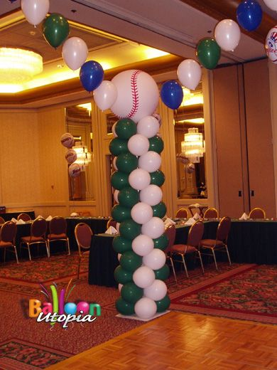 sports theme balloon decorations San Diego Balloons Decorations