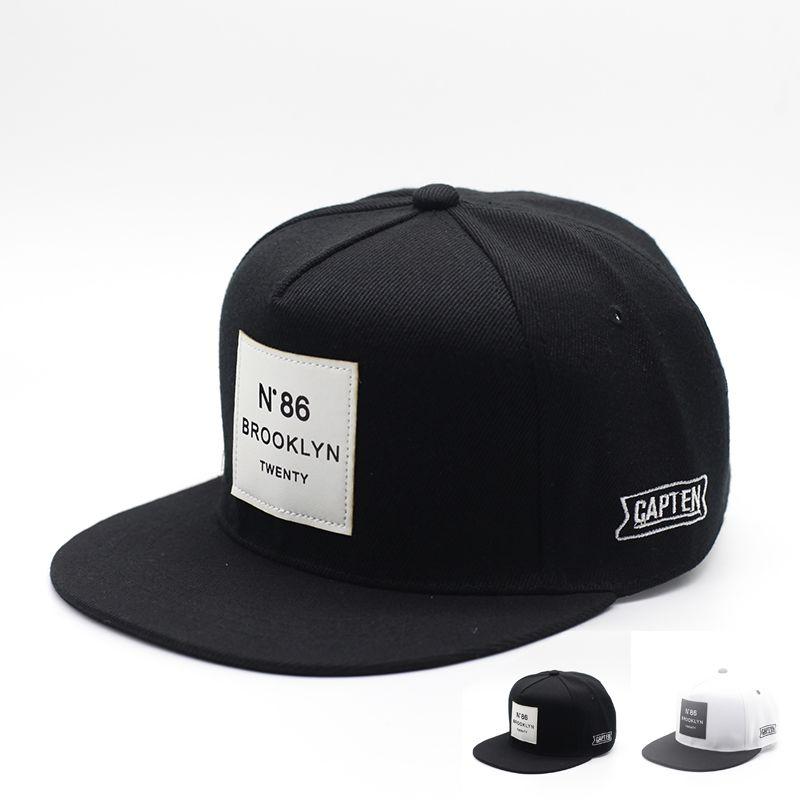 2017 Gorras Planas Hip Hop Cap Letter BROOKLYN Mens Sun Hat Baseball Caps  Brand WUKE Women. Sombreros De MujerGorras ... 646075c0f9d