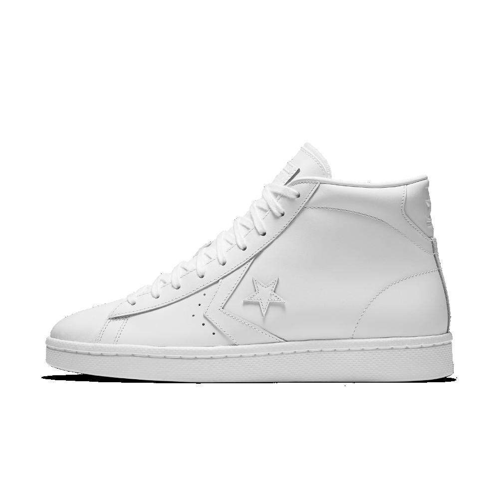 najlepiej kochany na sprzedaż online najtańszy Converse Pro Leather High Top Shoe Size 10.5 (White ...