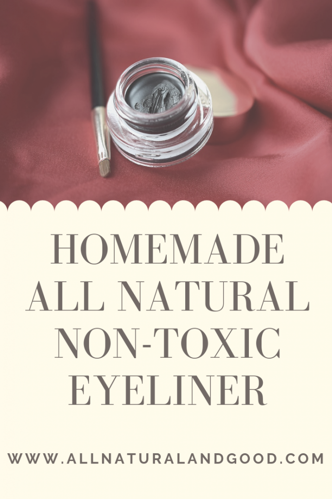 Homemade All Natural Non-Toxic Eyeliner