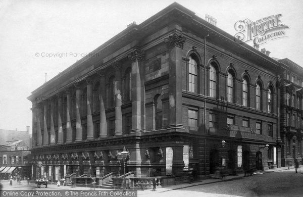 Bradford St George S Hall 1897 From Francis Frith Bradford City St Georges Hall Bradford