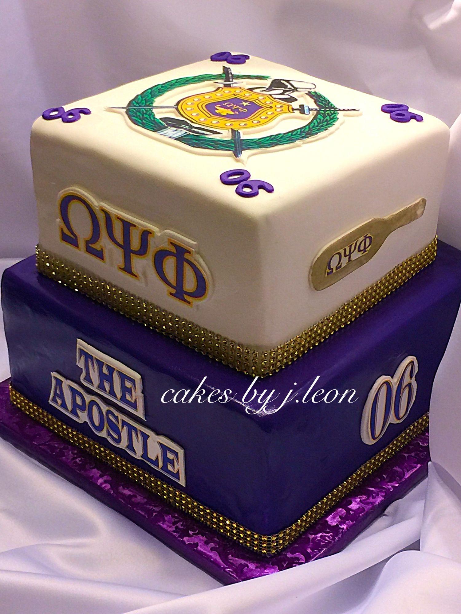Omega Psi Phi Grooms Cake Omegapsiphigroomscakecustomcakes