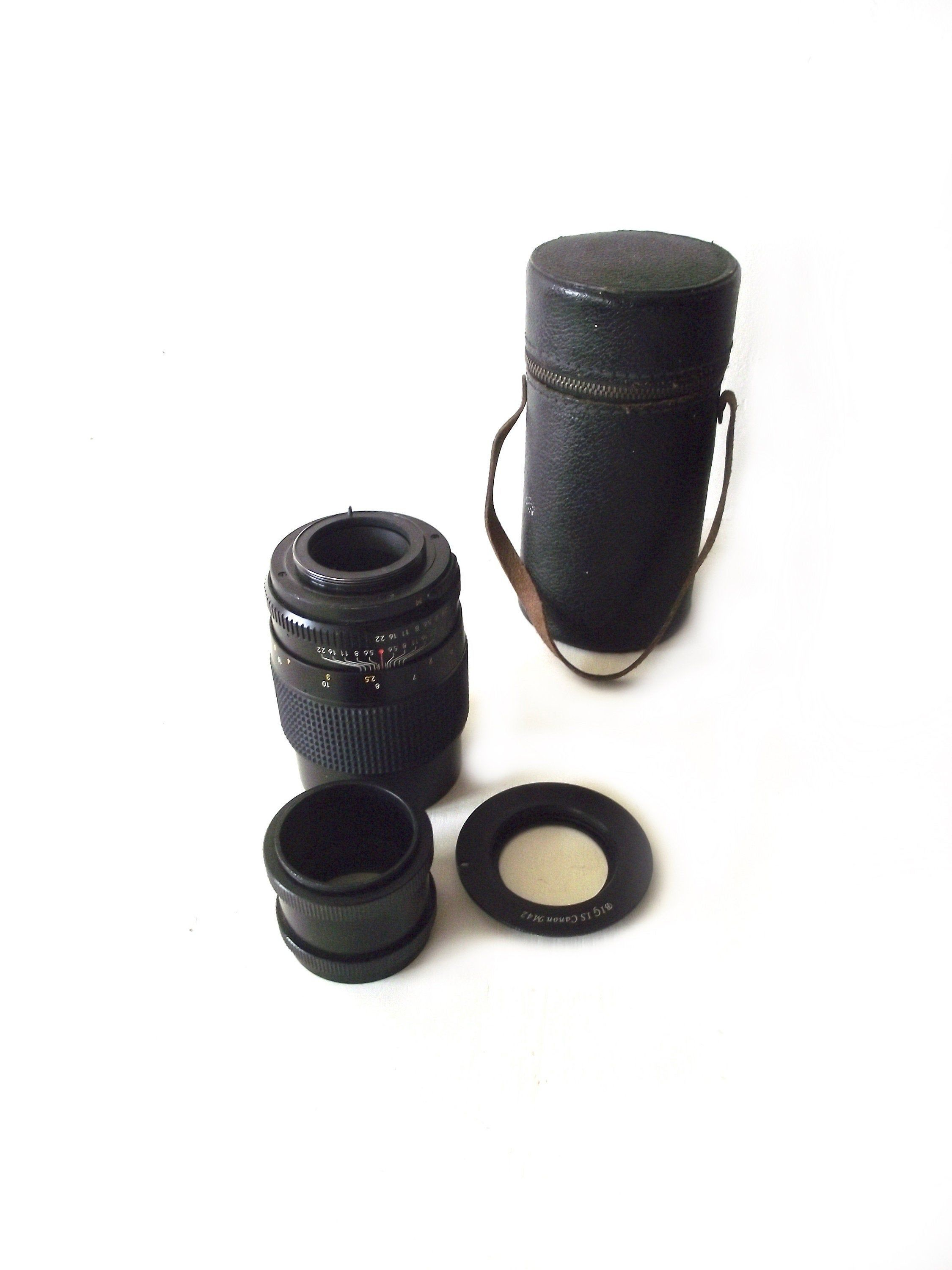 Lens Adapter For M42 Lens to Canon EOS 1000D 1100D T3i T2i With AF Confirm DC133