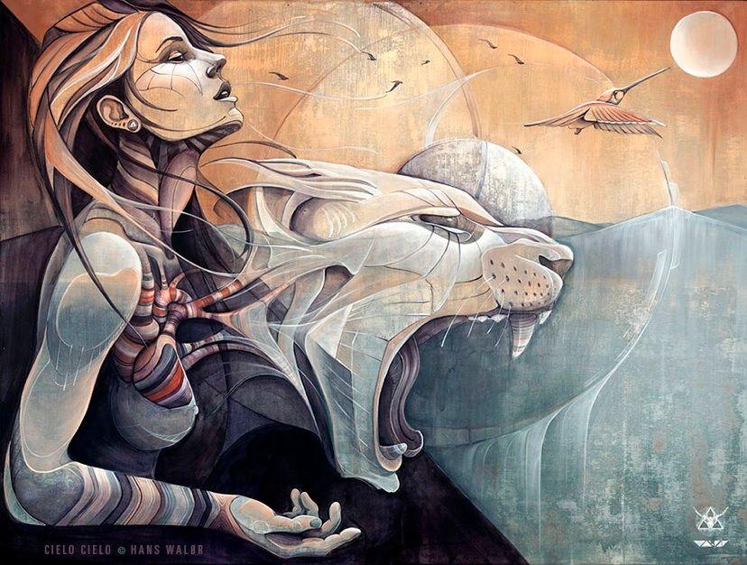 Cielo Cielo - Artwork by Hans Walor , Walør ,VALOR