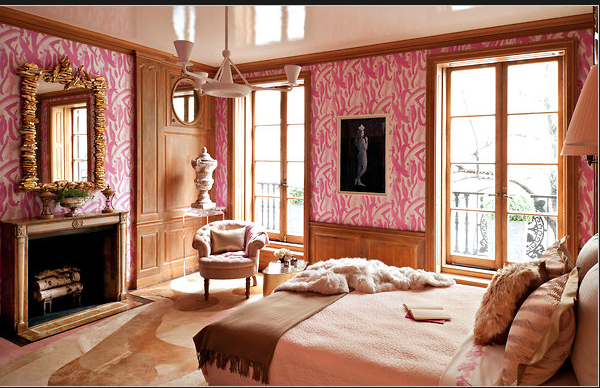 Amanda Nisbet,  photograph by Marilyn Minter @ Kips Bay Showhouse 2011