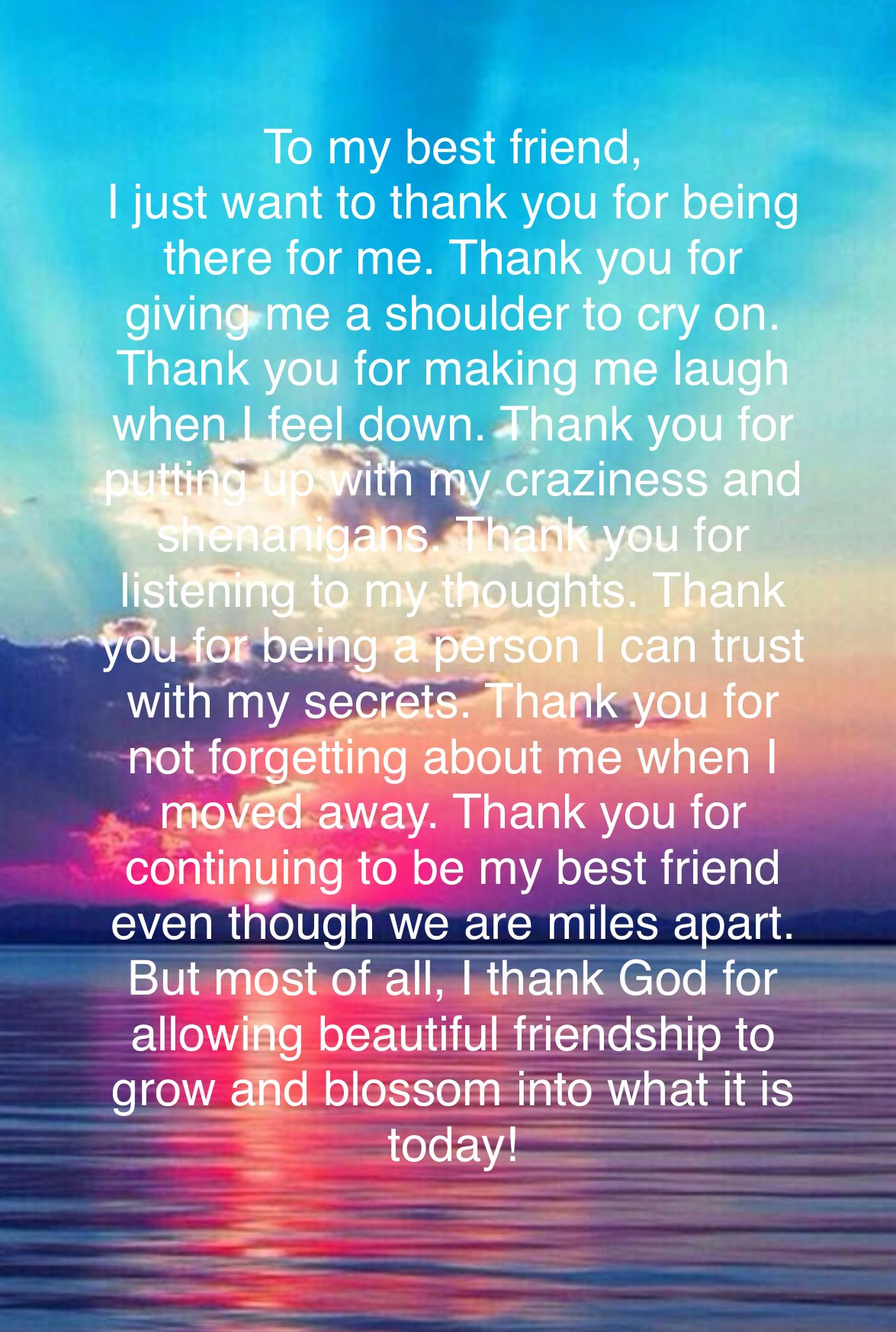Friendship Quotes For Best Friends Birthday