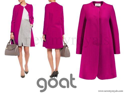 GOAT Wool Crepe Coat