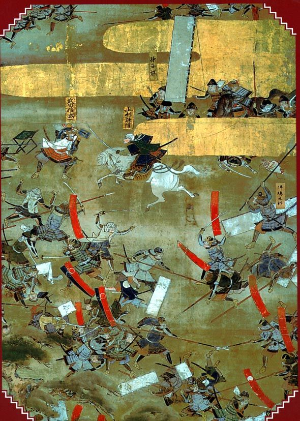 Sengoku Period Battle This Era In Japanese History Was Marked By