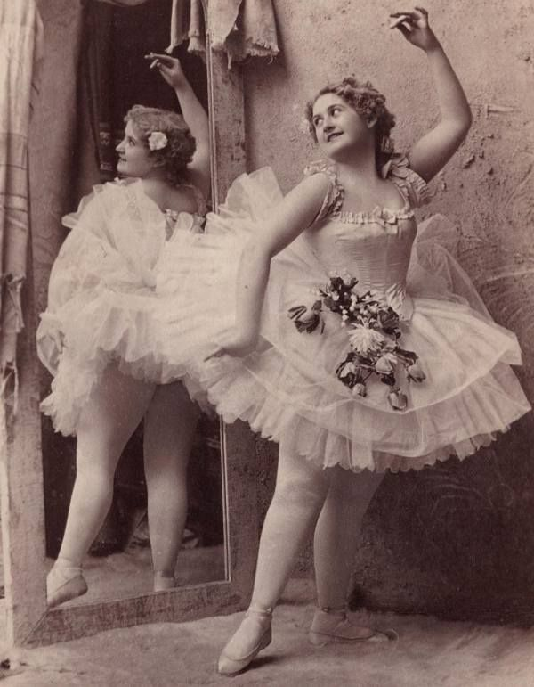These were the days were ballet dancers were praised for looking ...