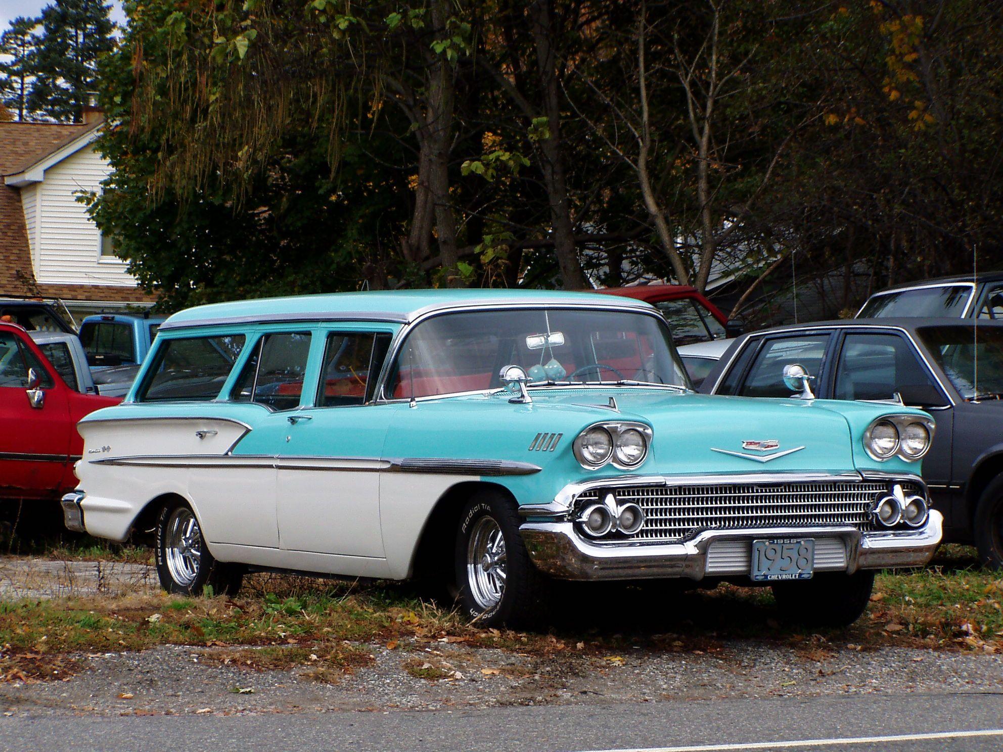 1958 Chevrolet wagon Maintenance/restoration of old/vintage ...