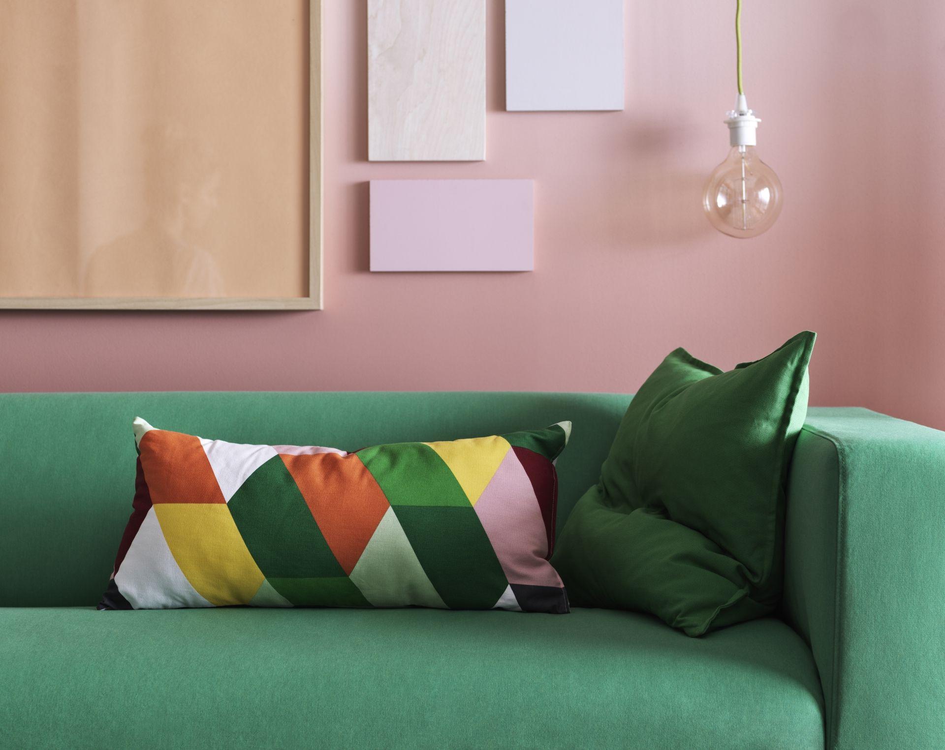 KLIPPAN bank   #IKEA #IKEAnl #zitbank #woonkamer #groen #fris #bank ...