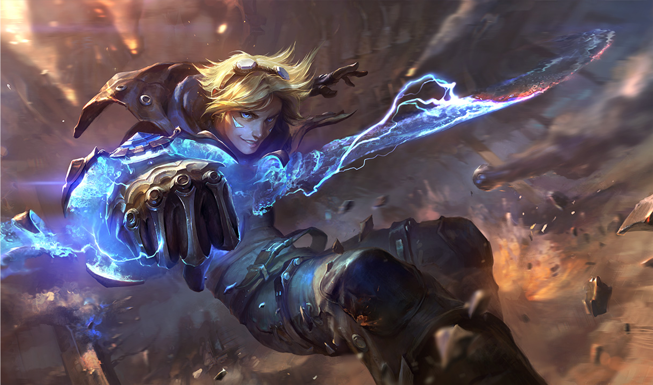 League Of Legends Ezreal Wallpapers For Iphone Garotos