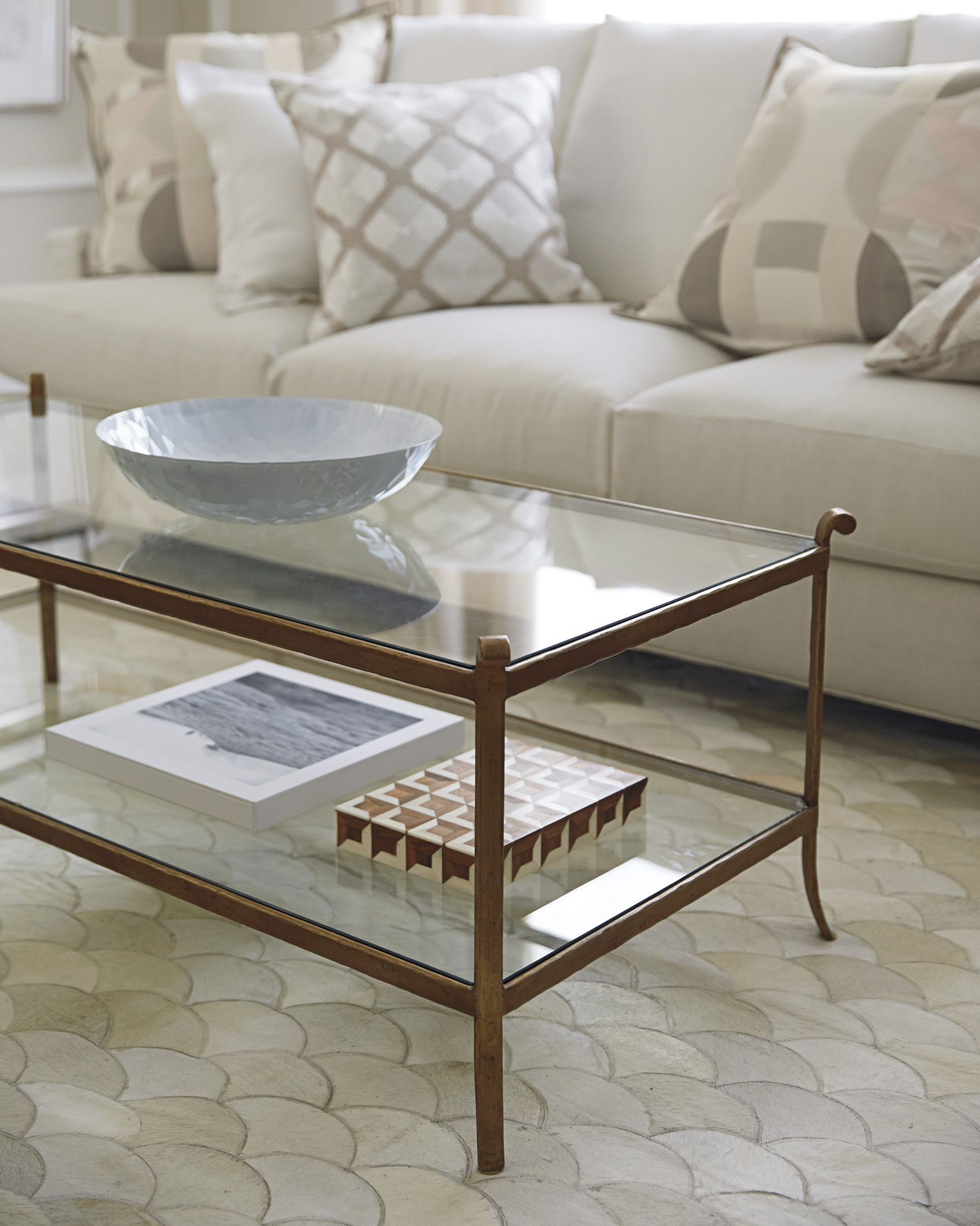 Serena & Lily St. Germain Coffee Table