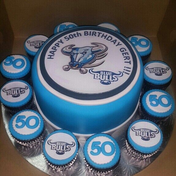 Blue Bulls Cake Cakes By Something Sweet Rugby Cake