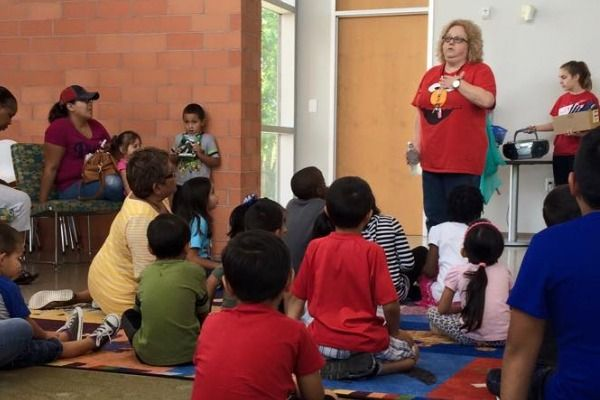 Preschool Storytime Central Library Houston, TX #Kids #Events