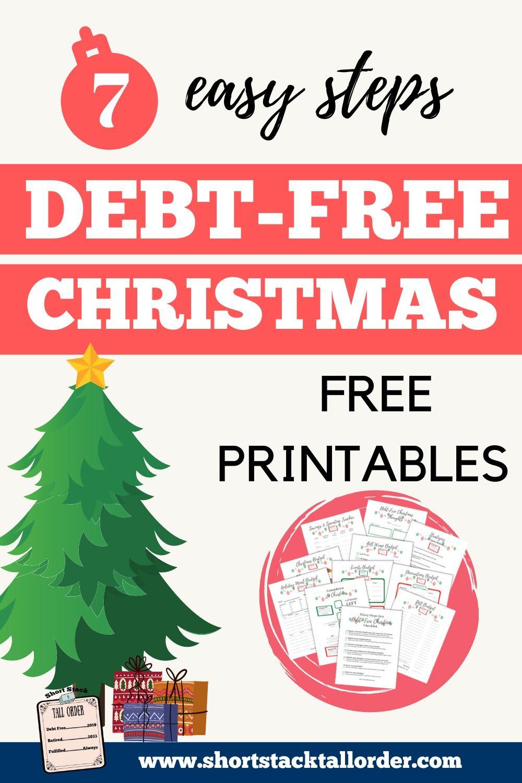 Christmas 2020 Debt Free 7 Easy Steps to a Debt Free Christmas in 2020 | Debt free, Free