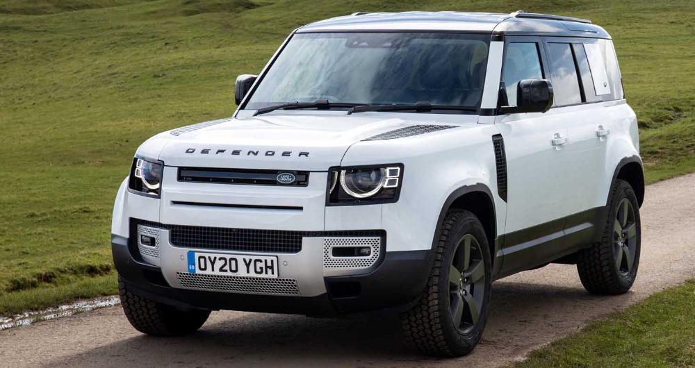 لاندروفر ديفندر 110 الجديدة تحصل على العلامة الكاملة في اختبار الأمان الأوروبي موقع ويلز Land Rover Defender Land Rover Defender 110