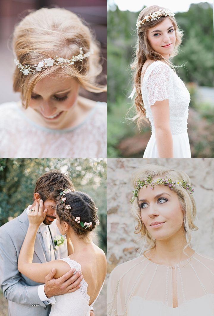Slubne Wianki Na Glowe Z Zywych Kwiatow Wedding Bridal Hair Wedding Wreaths