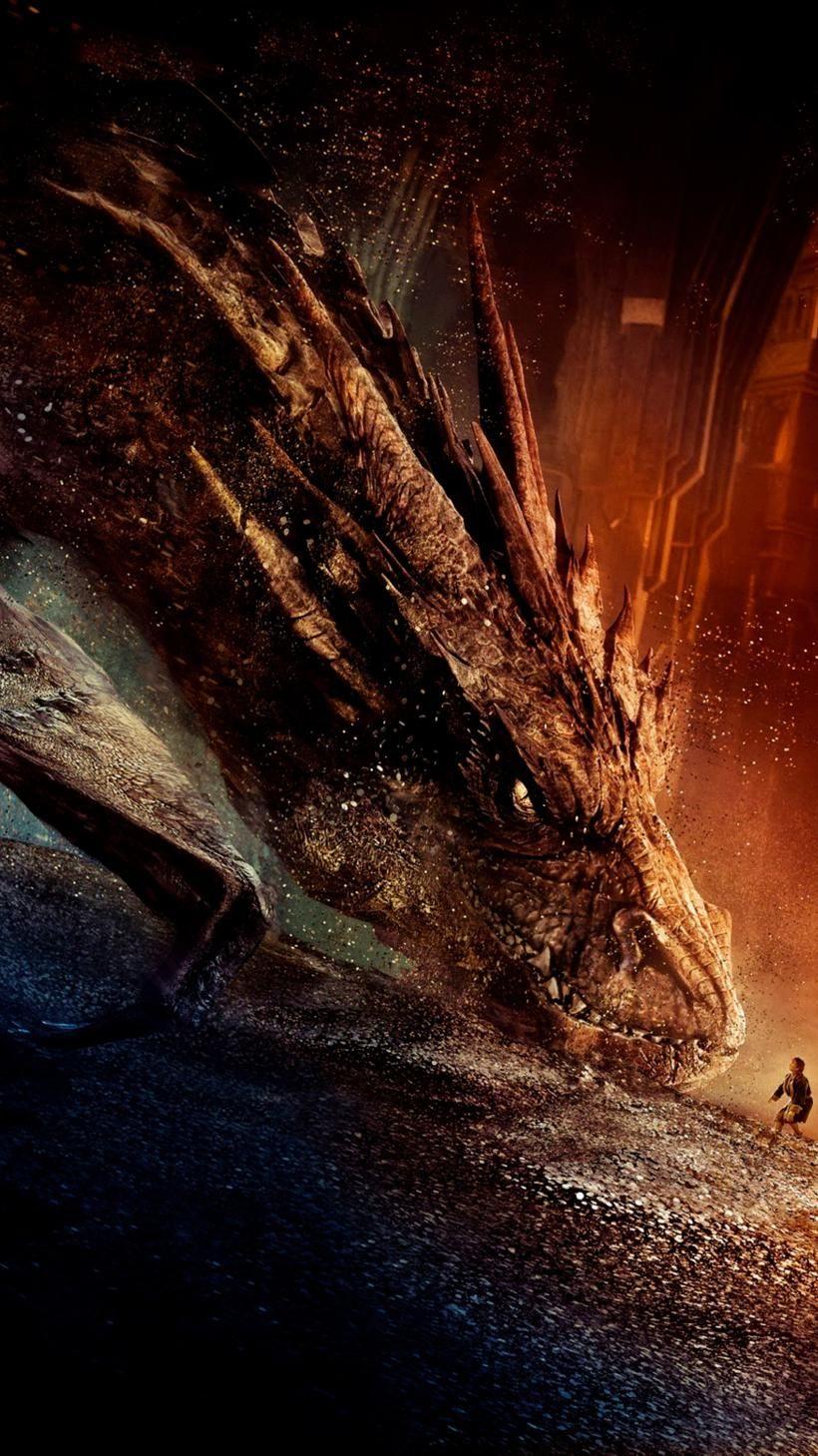 The Hobbit The Desolation Of Smaug 2013 Phone Wallpaper Moviemania The Hobbit The Hobbit Movies Desolation Of Smaug