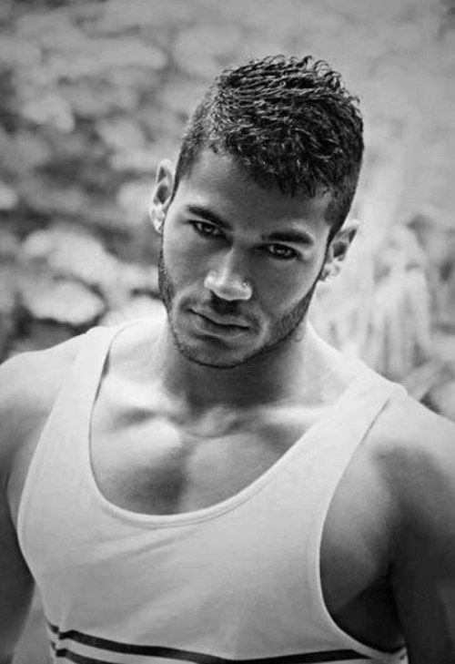 Very Black Mens Hairstyles Short Hair 2014 With Trimmed