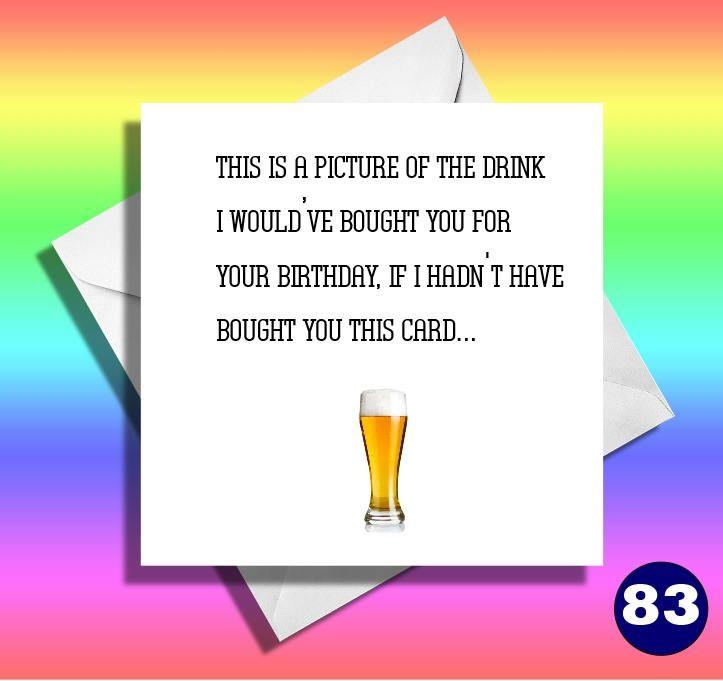 Happy birthday drink funny birthday cardreally funny cardsfunny – Really Funny Birthday Cards
