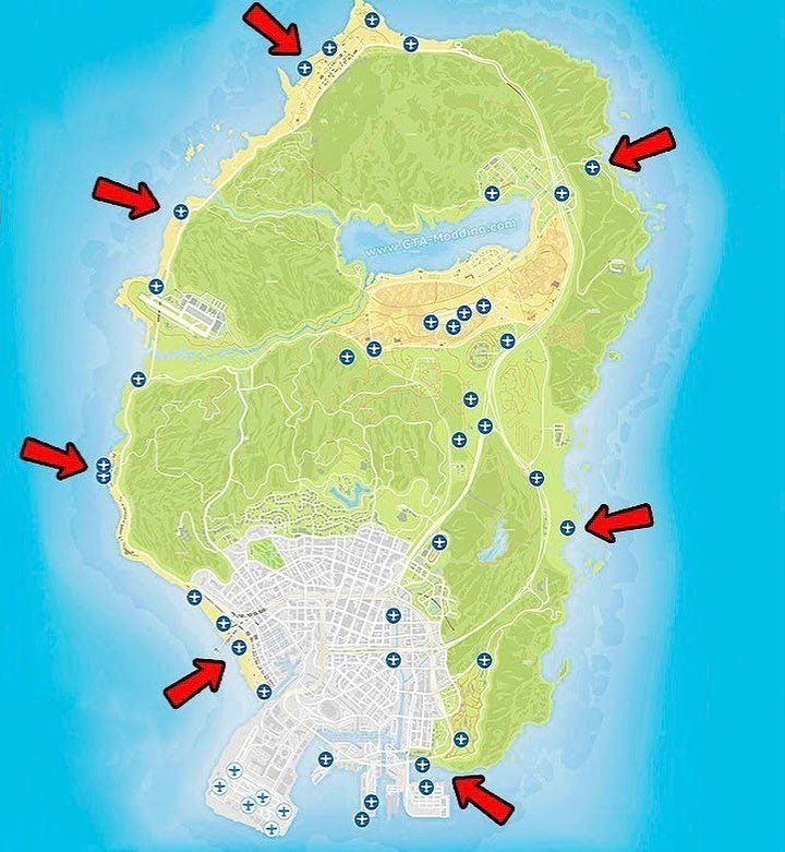 Gta V Spawn Locations For Personal Aircraft Useful I Guess Gta Videogames Spawn