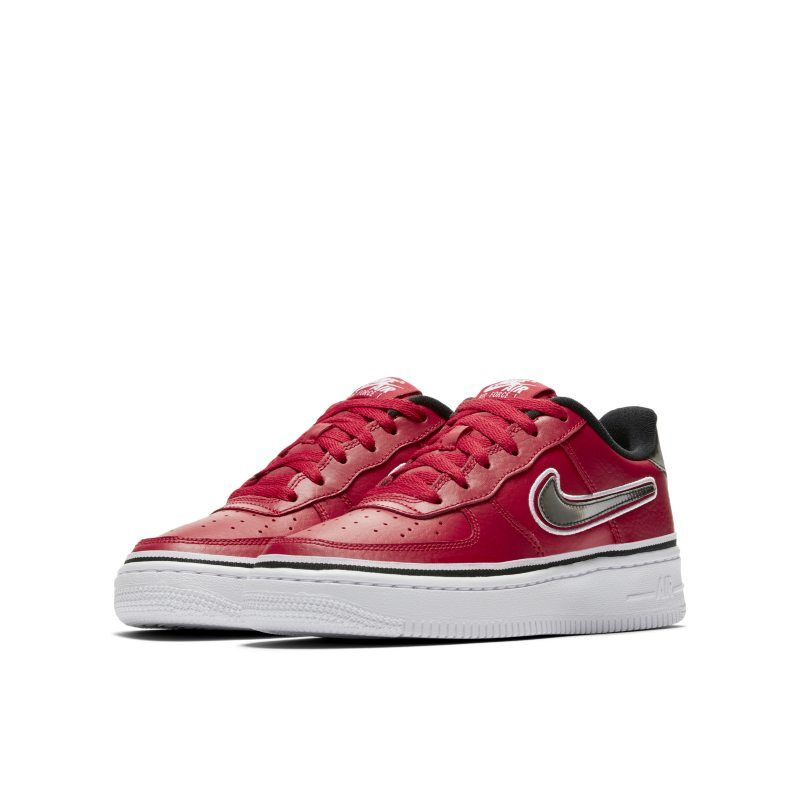 Nike Air Force 1' 07 LV8 Sport NBA Older Kids' Shoe Red