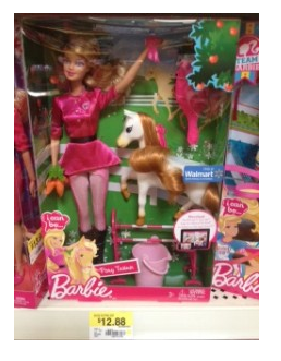 Barbie I Can Be a Pony Trainer for less than $10 at Walmart with Coupon!!