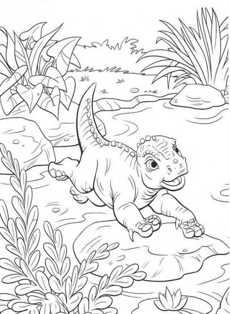 dinosaurier 48 ausmalbilder  dinosaur coloring pages