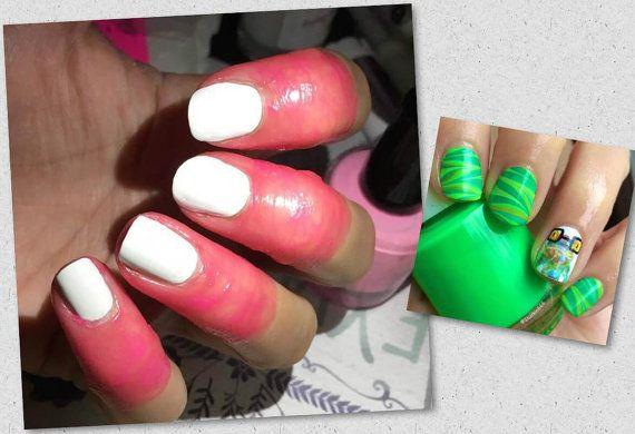 liquid latex nail tape, nail tape, Mani maid Liquid Latex Nail Art ...