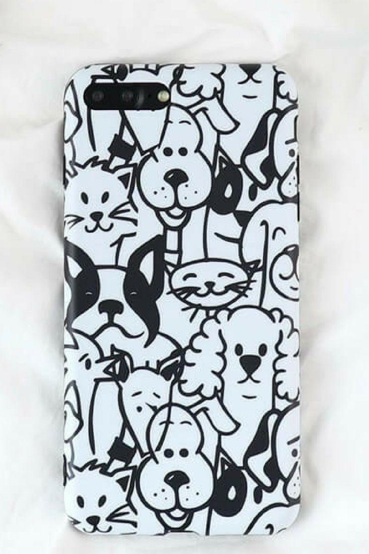 Animal graffiti phone case for iphone 6 6 plus iphone 7 7 plus iphone 8 8 plus iphone x