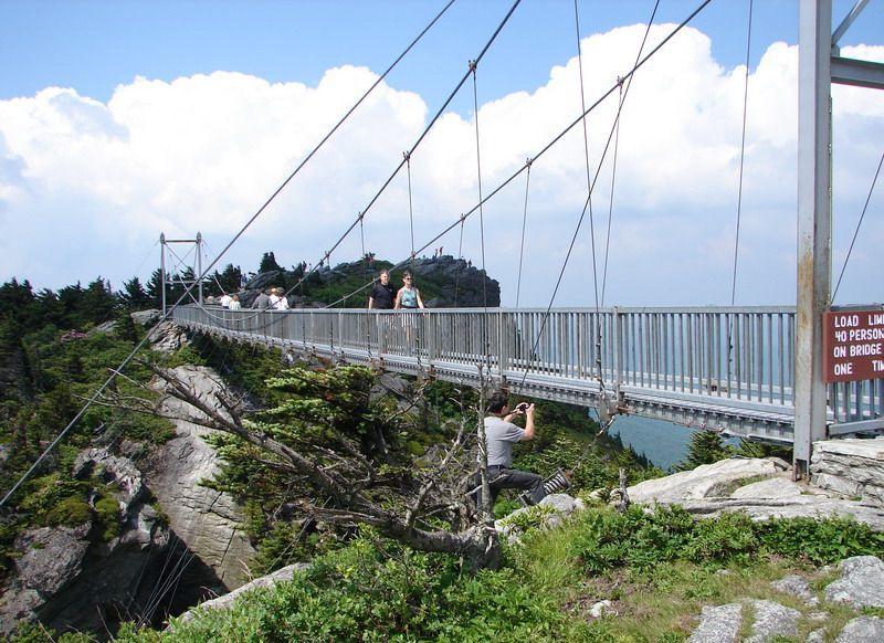 60 Years Of Swing High Country Press Mile High Swinging Bridge
