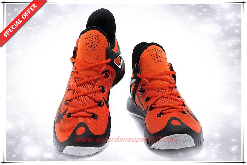 super popular ed9d1 a7453 Mens Nike Zoom Hyperrev 2015 705370-417 Orange   Black   White Cher, White