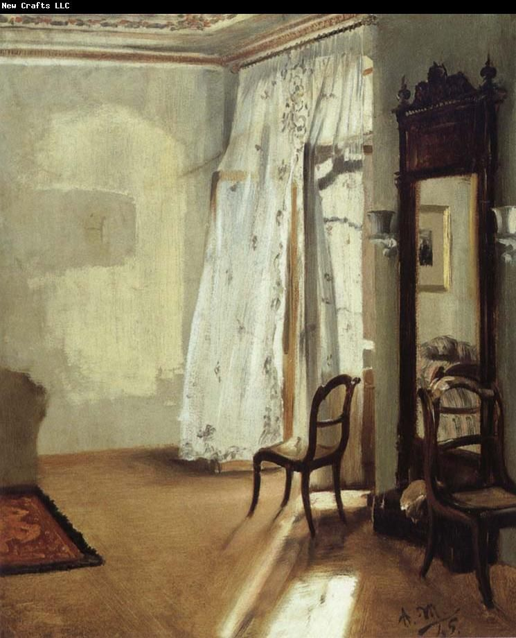 Adolph von Menzel The Balcony Room