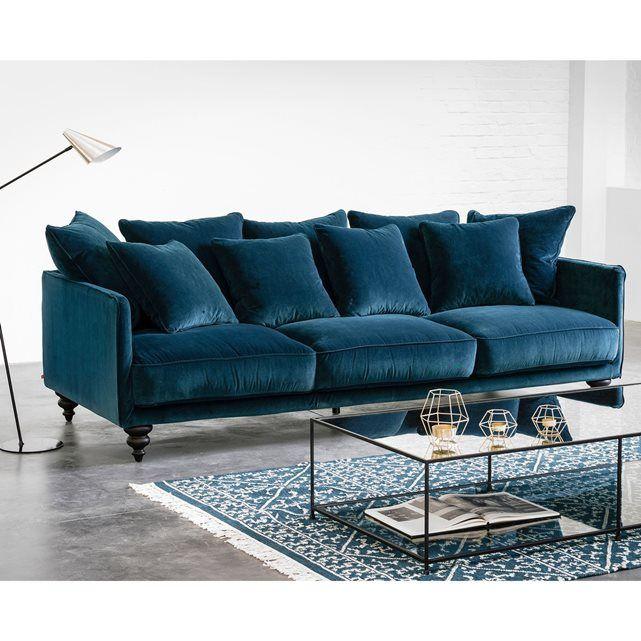 canape velours ampm id es d 39 images la maison. Black Bedroom Furniture Sets. Home Design Ideas