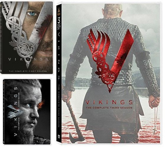 vikings dvd series seasons 1 5 set nordic vikings. Black Bedroom Furniture Sets. Home Design Ideas
