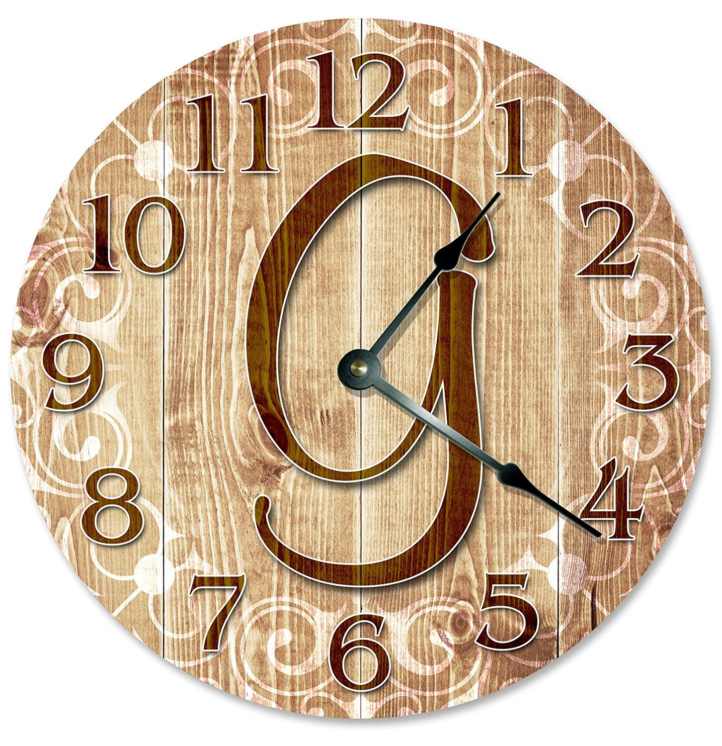 Large 10.5\' Wall Clock Decorative Round Wall Clock Home Decor ...
