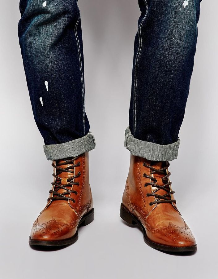 2cbd32aab82 Pin by Lookastic on Brogue Boots   Combat Boots