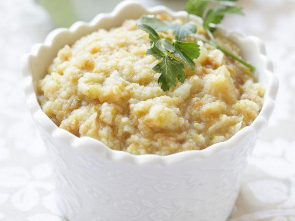 Selleriebrei ist ein Rezept mit frischen Zutaten aus der Kategorie Dips. Probieren Sie dieses und weitere Rezepte von EAT SMARTER!