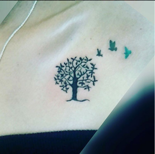 Small Tree Tattoo Ink Youqueen Girly Tattoos Small Tattoos Tree Tattoo Small Life Tattoos