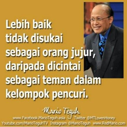 Pin Di Quotes Mario Teguh