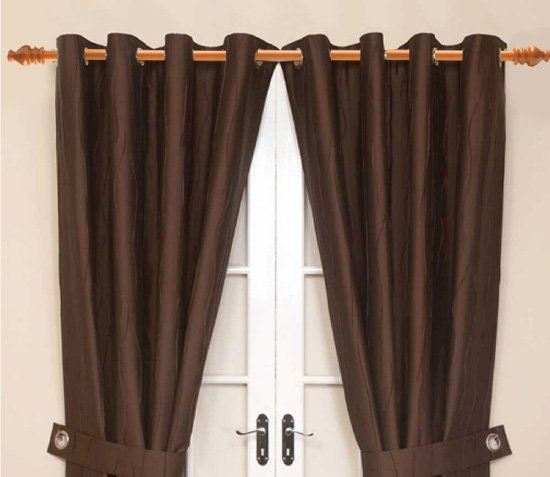 Curtain Rods cambria wood curtain rods : Rod For Curtain - Rooms