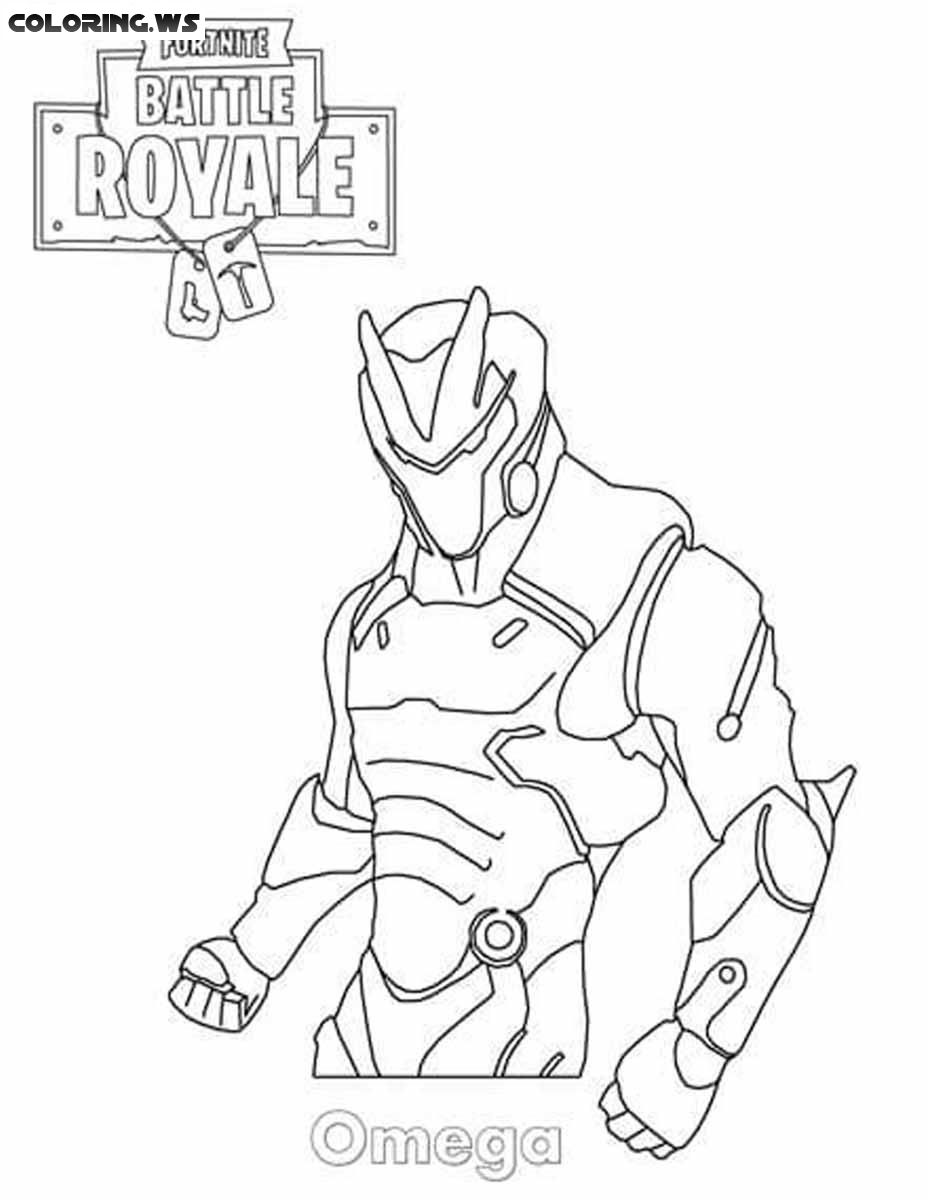 fortnite coloring pages omega Fortnite Omega Coloring Page #omega #fortnite #color #coloring  fortnite coloring pages omega