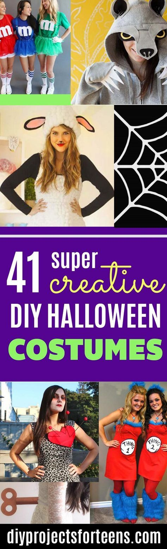 41 Super Creative DIY Halloween Costumes for Teens costumes - creative teenage girl halloween costume ideas