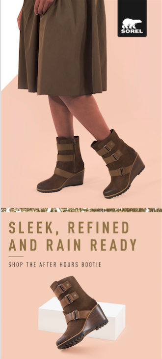 69e9317dd6a A defined tread and a refined waterproof upper make this sleek ankle boot a  go to for wearing all day (and night) long. The After Hours Bootie features    ...